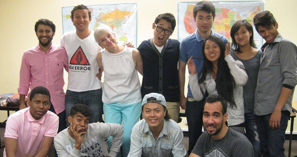 Students from all over the World!